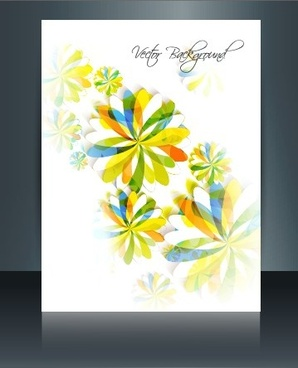 modern flyer design creative vector