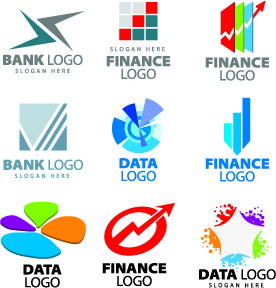 modern logos design elements vector