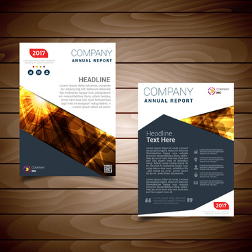 red report cover page template free vector download 24 393 free