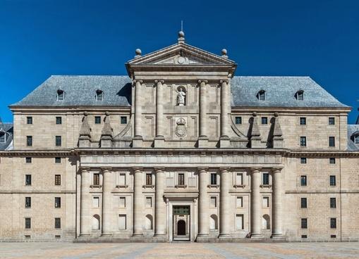 monastery of saint lawrence spain building