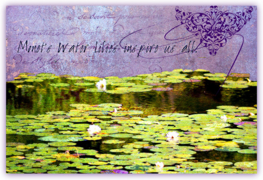 monets water lilies inspire us all