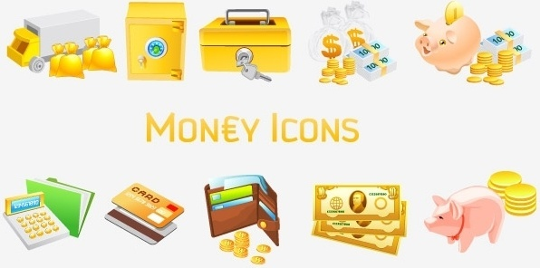 Money [Vista] Icons