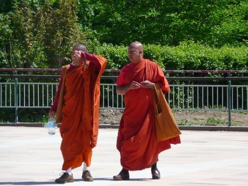 monks religion person