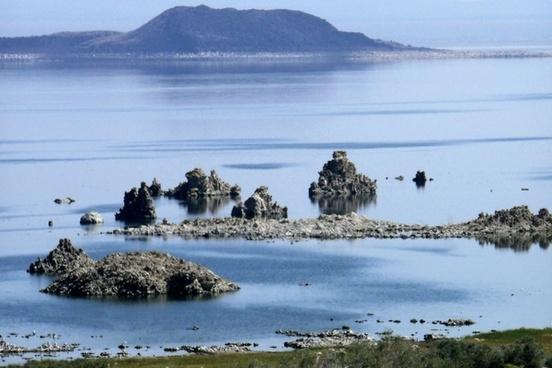 mono lake california usa minerals