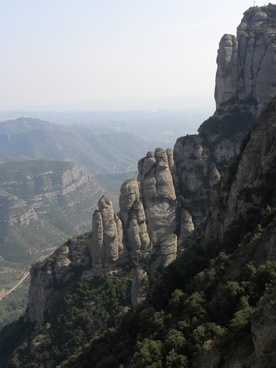monserrat mountains europe