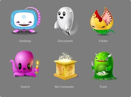 Monsters Icons icons pack