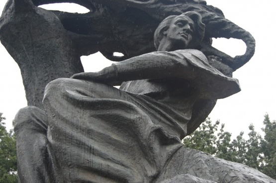 monument statue chopin