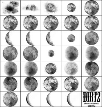 moon brush