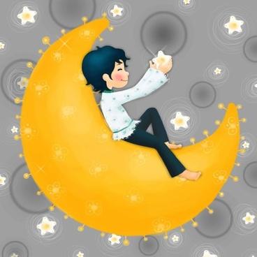 moon fairy psd layered 2