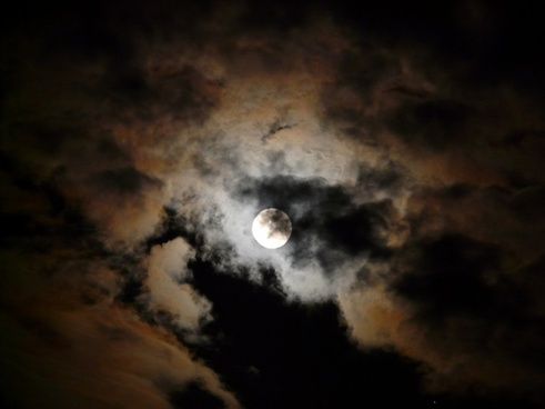 moon moonlight pale
