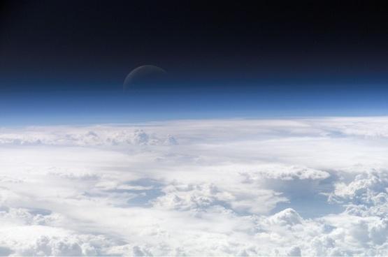 moon moonrise space