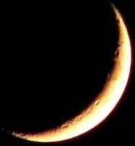 moon sky black