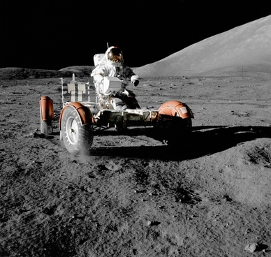 moon vehicle astronaut space travel
