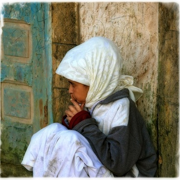 morocco girl child