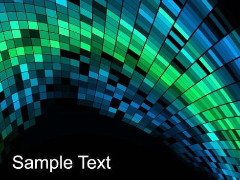 mosaic background vector 4
