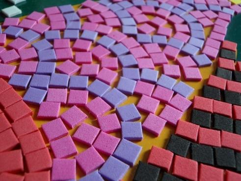 mosaic structure pattern