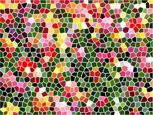 mosaic tiles pattern vector illustration