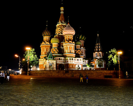 moscow at night 4
