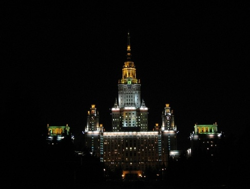 moscow russia night