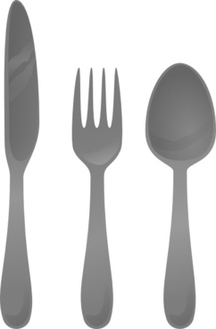 Moself Cutlery clip art