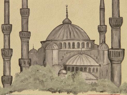 mosque minaret image