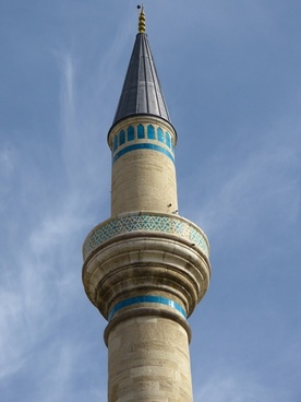 mosque minaret konya
