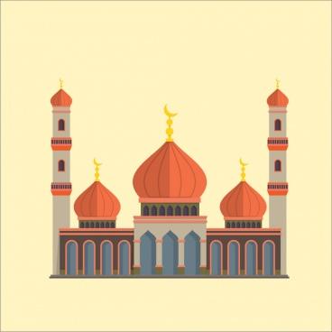 mosque set landscape