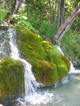 moss bach waterfall