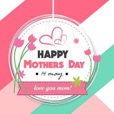 mothers day vector background