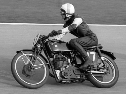 motorcycle racer mark