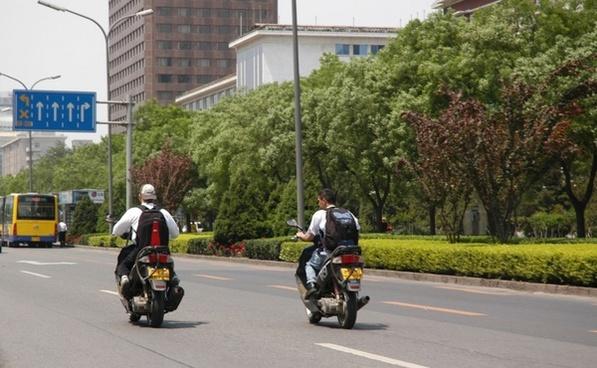 motorcyles in beijing