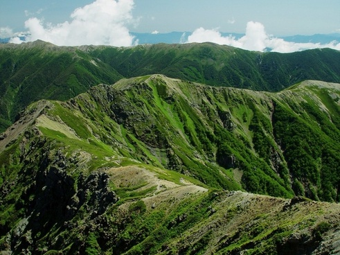 mount shirogochi japan landscape