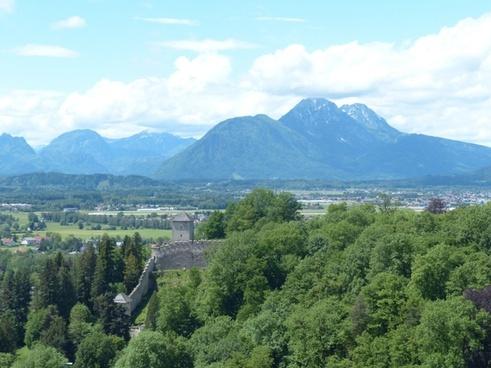 mountain alpine salzburg