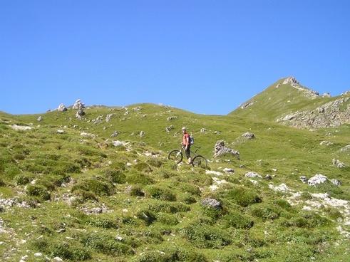 mountain bike tour transalp