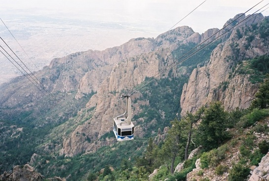 mountain cable ride