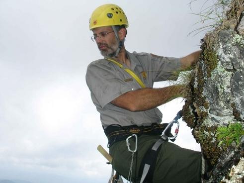 mountain climber man