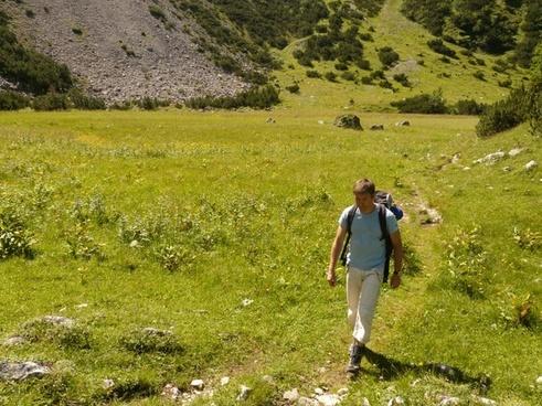mountain hiking hike hiking