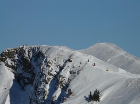 mountain ski tour rise