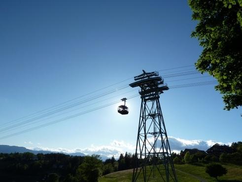 mountain summer gondola
