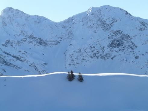 mountain summit ridge