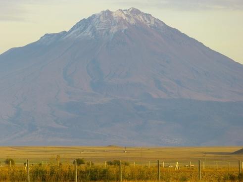mountain volcano hassan