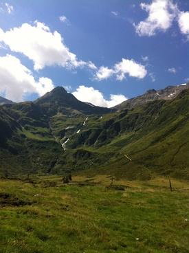 mountains alpine austria
