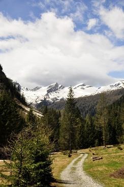 mountains alpine away