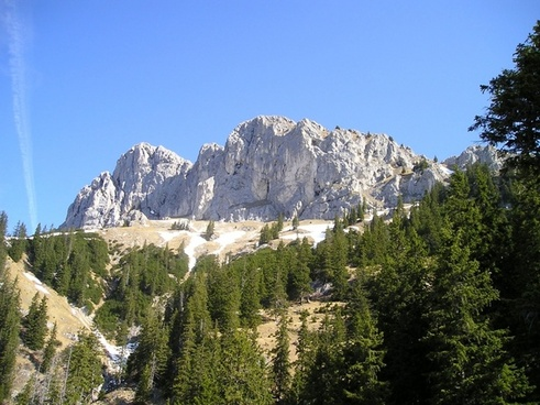 mountains alpine tannheim