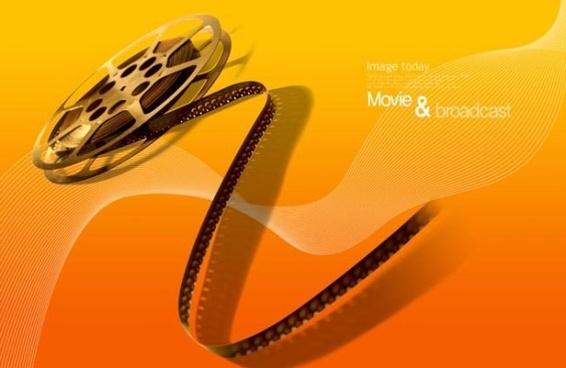 movie theme psd layered 2