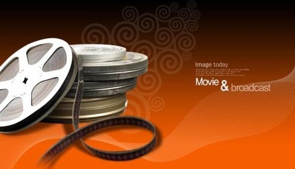 movie theme psd layered 3