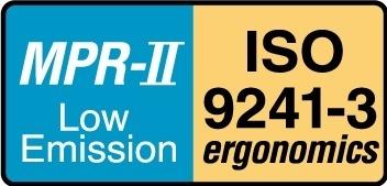 MPR-II ISO 9241-3 logo