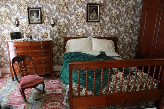 ms lincoln039s bed at lincoln home in springfield illinois