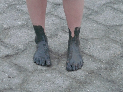 mudflat hiking watts feet
