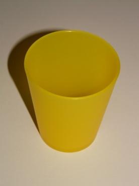 mug drink yellow